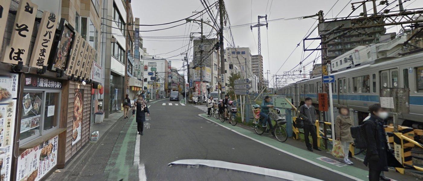 町田教室の道順写真 2番目の交差点(左折)