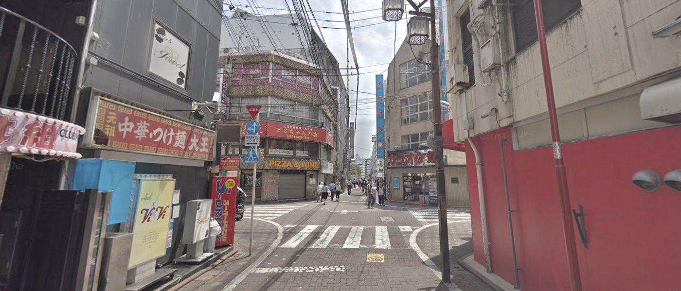 蒲田教室の道順写真 4つ目の交差点(左折)