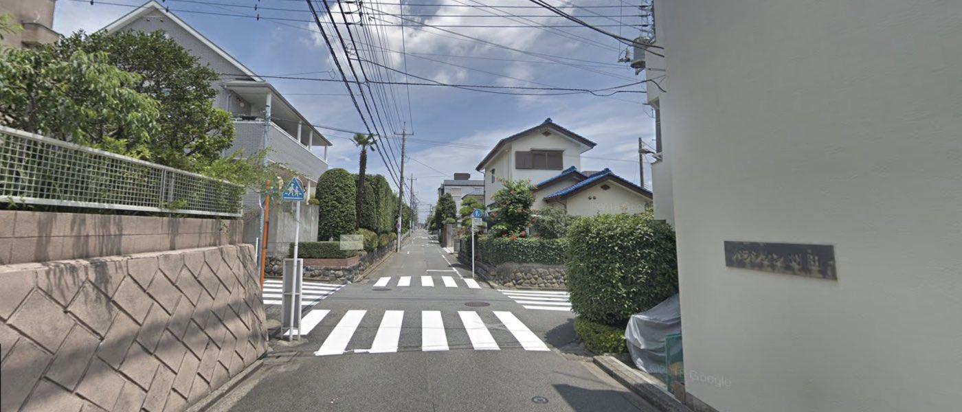 町田教室の道順写真 4つ目の交差点(左折)