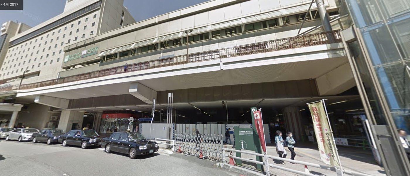 神戸校の道順写真 JR三宮駅東口