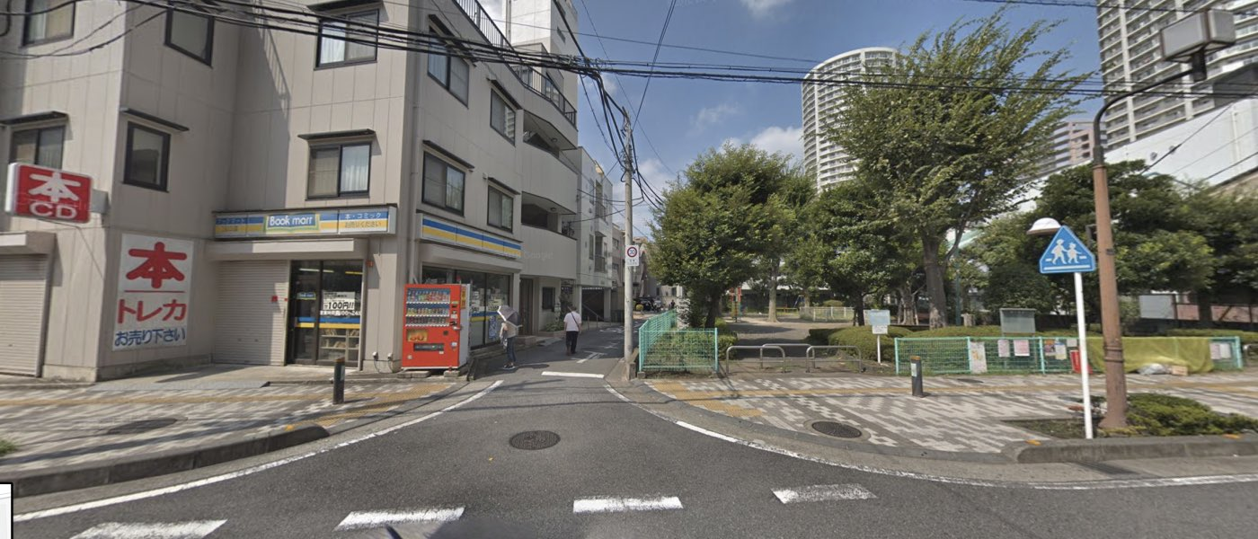 川口教室の道順写真 3つ目の交差点