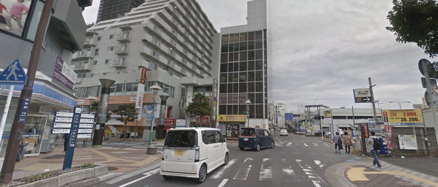 湘南平塚教室の道順写真 2つ目の交差点(左折)