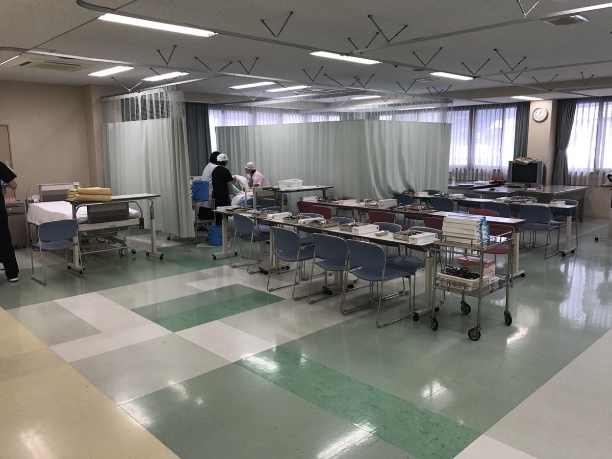 KDG看護予備校が阪奈中央看護専門学校さんをインタビューした際の校内の様子5